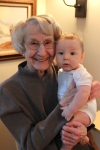 with Great Grandma Buck