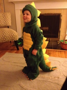 thanks to Nonna for this exceptional dino costume